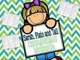 Sarah Plain and Tall Comprehension Bookmarks