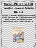 Sarah, Plain and Tall Figurative Language Activities