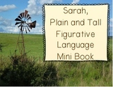Sarah, Plain and Tall Figurative Language Mini Book