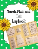 Sarah, Plain and Tall Lapbook Novel Activity. Plot Setting Main Characters