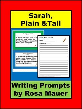 Sarah Plain and Tall Activities