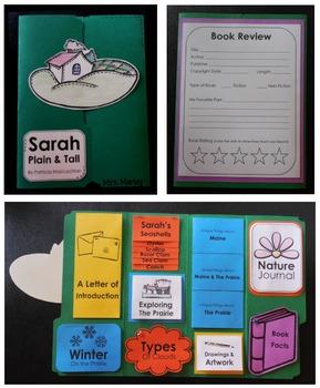 Sarah, Plain and Tall Literature Guide & Mini-Lapbook