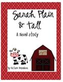 Sarah, Plain and Tall Literature Unit