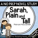 Sarah, Plain and Tall Novel Study | Distance Learning | Go