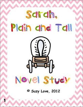 Worksheets Sarah Plain And Tall Worksheets sarah plain and tall novel by suzy love teachers pay study common core unit