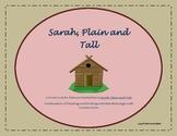 Sarah, Plain and Tall Novel Study-Common Core