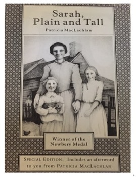 Sarah, Plain and Tall Novel Study Packet