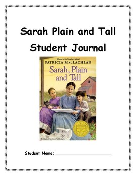 Sarah Plain And Tall Book