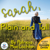 Sarah, Plain and Tall Novel Study Book Unit