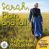 Sarah, Plain and Tall Novel Study Book Unit