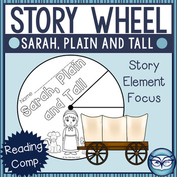 Sarah, Plain and Tall Story Elements Wheel