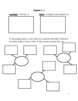 Sarah, Plain and Tall Student Activity Book
