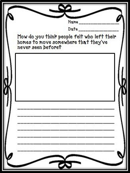 Sarah Plain and Tall Journeys 3rd Grade Unit 5 Lesson 21 Activities & Printables