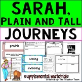 Sarah Plain and Tall |  Journeys 3rd Grade Unit 5 Lesson 21 Printables