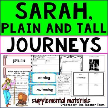 Sarah Plain and Tall Journeys Third Grade Supplemental Materials