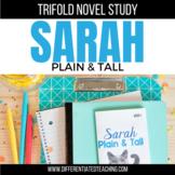 Sarah Plain and Tall Novel Study Unit