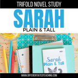 Sarah Plain and Tall Novel Study Unit