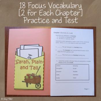 Sarah, Plain and Tall Book Unit