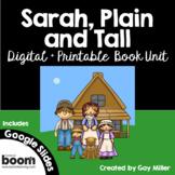 Sarah, Plain and Tall [Patricia MacLachlan] Google Digital + Printable Book Unit