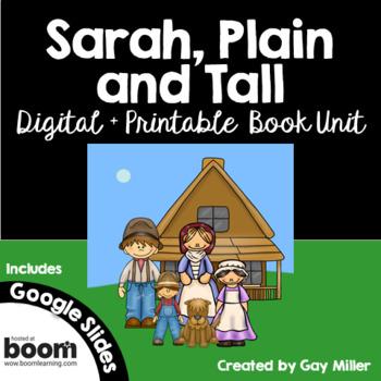 Sarah, Plain and Tall [Patricia MacLachlan] Digital + Printable Book Unit