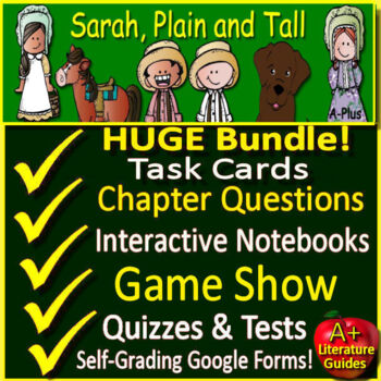 Sarah, Plain and Tall Unit Novel Study