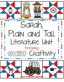 Sarah Plain and Tall Unit with Quilt Craftivity