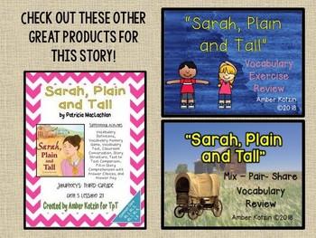 Sarah, Plain and Tall: Virtual Evidence Bag Journeys 3rd Grade Lesson 21