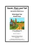 Sarah, Plain and Tall      Whole Book Test