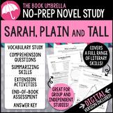 Sarah Plain and Tall Novel Study - Distance Learning - Google Classroom