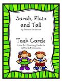 Sarah, Plain and Tall task cards
