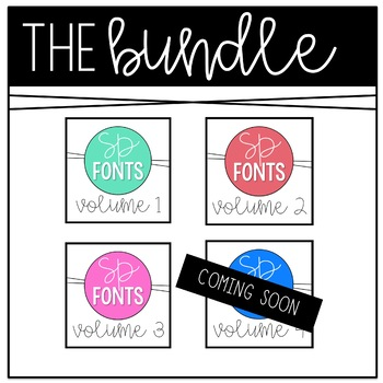 Sarah Price Font Growing Bundle
