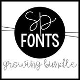 Sarah Price Font Growing Bundle