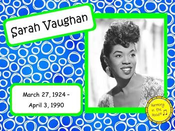 Sarah Vaughan: Musician in the Spotlight
