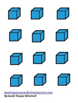 Giant Base Ten Blocks Math Centers Numbers in Base Ten