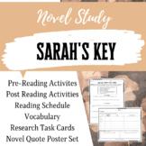 Sarah's Key Novel Study