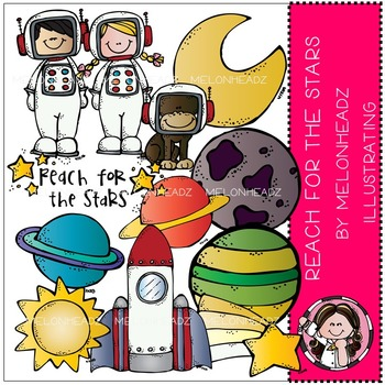 Sarah's reach for the stars by Melonheadz COMBO PACK