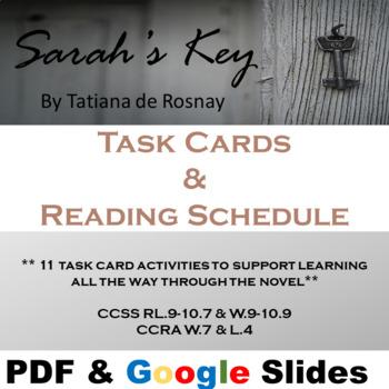 Sarah's Key - Research Task Cards (Holocaust)