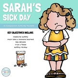 RED RIBBON WEEK Picture Book Read Aloud Video: Sarah's Sick Day
