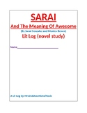 Sarai And The Meaning of Awesome Lit Log (novel study)