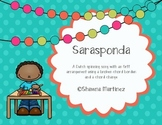 Sarasponda - a Dutch spinning song with an Orff arrangement