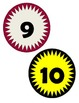 Starburst Numbers 1-120