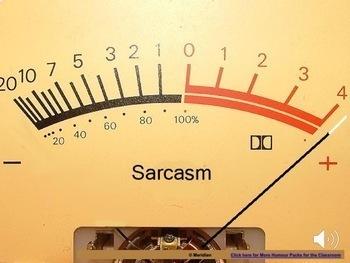 Sarcasm- Movie and Worksheet BUNDLE ***NEW***
