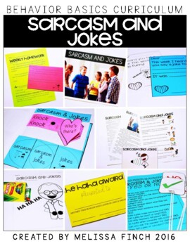 Sarcasm and Jokes-  Behavior Basics Program for Special Education