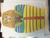 Egypt Sarcophagus Project 6th Grade