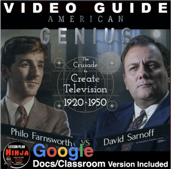 Sarnoff v. Farnsworth American Genius: The Crusade to Create TV Video Guide+Link