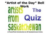 Saskatchewan Art Work Identification Quiz (Includes Answer Key)