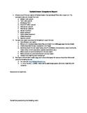 Saskatchewan Ecosystem Report/Project w/ Rubric