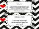 Saskatchewan Grade 4 Math I Can Statement Posters in Black/White Chevron