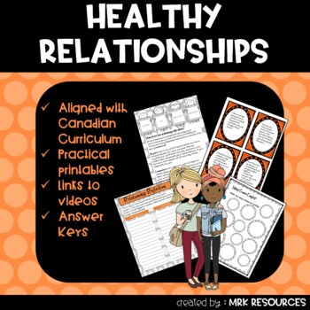 Healthy Relationships Grade 7 Health Unit