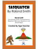 Sasquatch by Roland Smith - Novel Unit